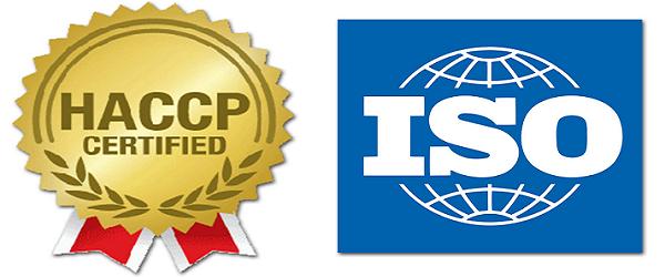ISO HACCP GMP