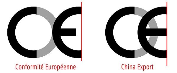 Rożnica pomiędzy CE i China Export
